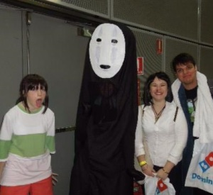 Chihiro & No-Face spotted at Sydney Supanova 2014!