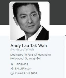 andy lau twitter