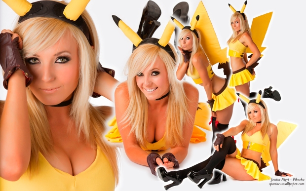 Jessica Nigri - Pikachu Cosplay costume