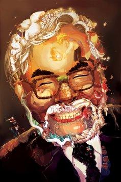 Hayao Miyazaki art portrait by C3nmt