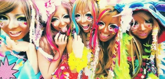 ganguro-girls