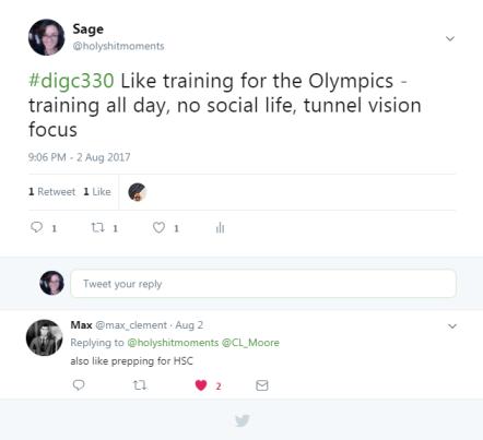 intense training