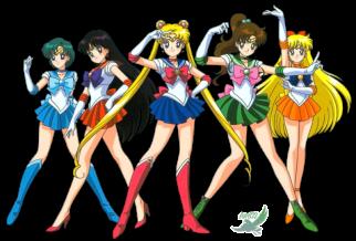 Sailor Moon individual character style