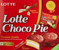 What we ate: Lotte Choco Pie