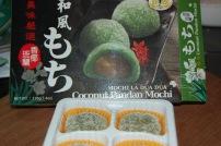 What we ate: Coconut Pandan Mochi